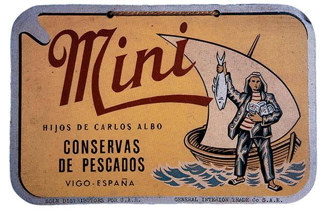 Conservas de pescado Mini