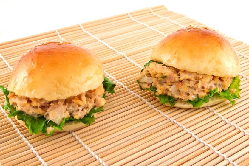 hamburguesas de atun