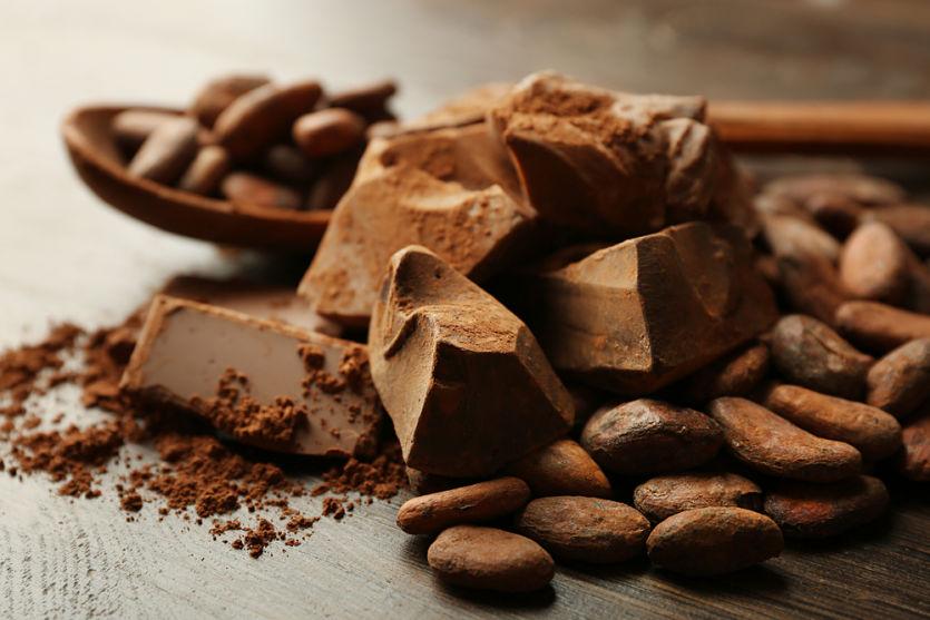 cacao chocolate negro