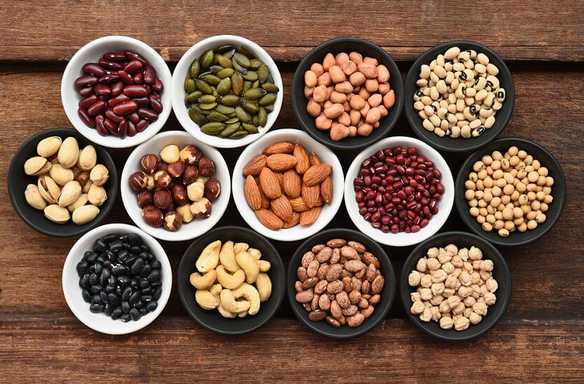legumbres vitamina b